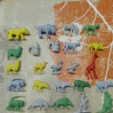 Figuras de Goma y PVC: LOTE 25 FIGURAS DUNKIN SERIE FIERAS DEL ZOO. Lote 112135024