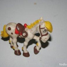 Figuras de Goma y PVC: ANITUGA FIGURA CABALLO LUCKY LUKE JOLLY JUMPER SCHLEICH. Lote 112146907