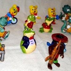 Figuras Kinder: LOTE DE FIGURAS KINDER VINTAGE.. Lote 112263627