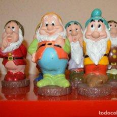Figuras de Goma y PVC: SIETE ENANITOS - DISNEY. Lote 112272251