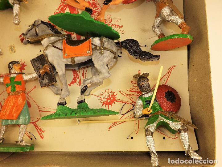 Figuras de Goma y PVC: Comansi Torneo caja completa - Foto 5 - 128840415