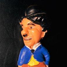 Figuras de Goma y PVC: FIGURA PVC 6,5 CM CHARLES CHAPLIN KELLOG'S 1989 CINE MUDO CHARLOT CEREALES KELLOGS VAGABUNDO TRAMP. Lote 112275103