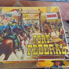 Figuras de Goma y PVC: FUERTE DE EL OESTE FORT FEDERAL DE COMANSI. Lote 112396875