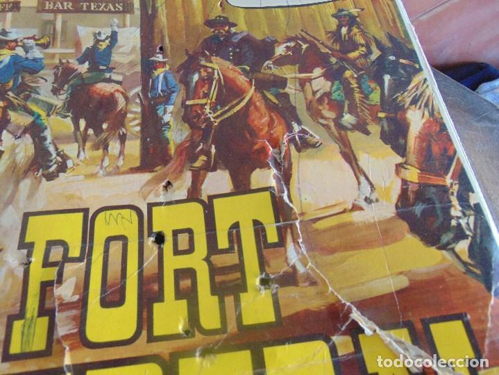 Figuras de Goma y PVC: FUERTE DE EL OESTE FORT FEDERAL DE COMANSI - Foto 3 - 112396875