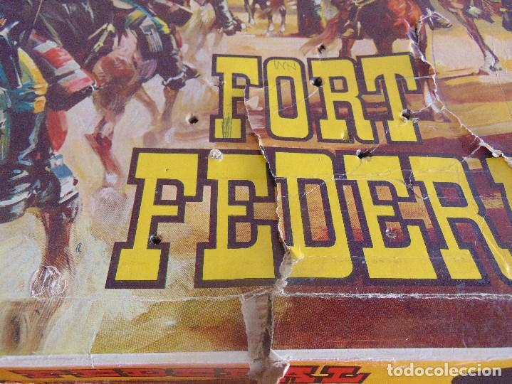 Figuras de Goma y PVC: FUERTE DE EL OESTE FORT FEDERAL DE COMANSI - Foto 4 - 112396875
