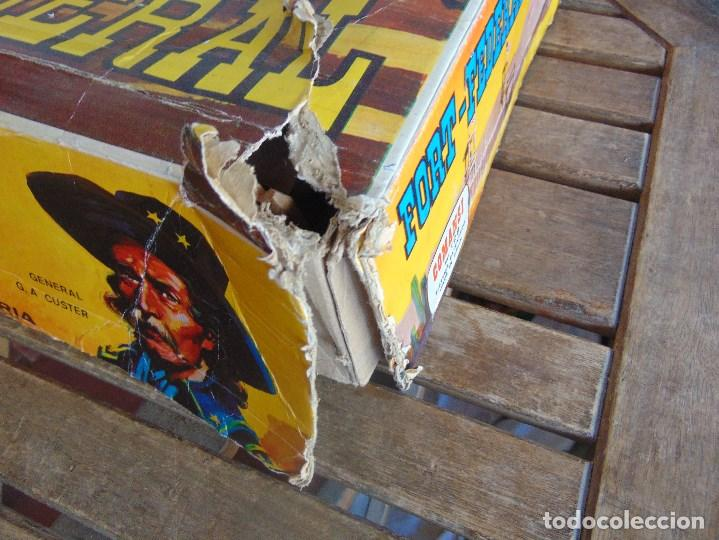 Figuras de Goma y PVC: FUERTE DE EL OESTE FORT FEDERAL DE COMANSI - Foto 6 - 112396875