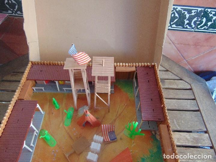 Figuras de Goma y PVC: FUERTE DE EL OESTE FORT FEDERAL DE COMANSI - Foto 13 - 112396875