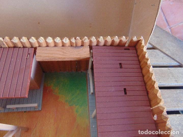Figuras de Goma y PVC: FUERTE DE EL OESTE FORT FEDERAL DE COMANSI - Foto 16 - 112396875