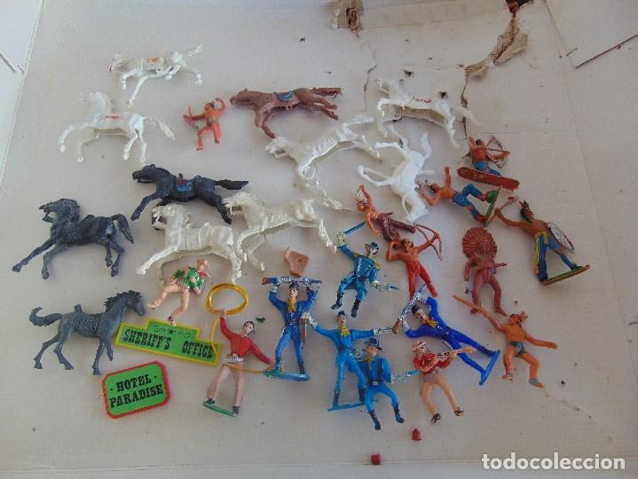 Figuras de Goma y PVC: FUERTE DE EL OESTE FORT FEDERAL DE COMANSI - Foto 24 - 112396875