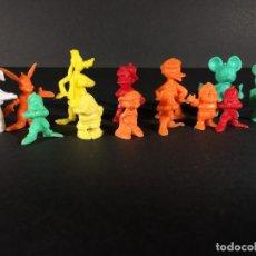 Figuras de Goma y PVC: WALT DISNEY LOTE 13 FIGURAS PREMIUM DUNKIN. Lote 112398851