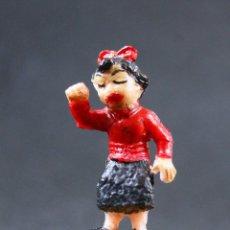 Figuras de Goma y PVC: FIGURA NIÑA FAMILIA ULISES. Lote 112427403