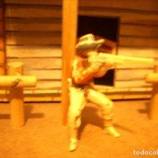 Figuras de Goma y PVC: VAQUERO JECSAN REAMSA COMANSI PECH. Lote 112446135
