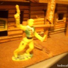 Figuras de Goma y PVC: VAQUERO JECSAN REAMSA SOTORRES. Lote 112523375