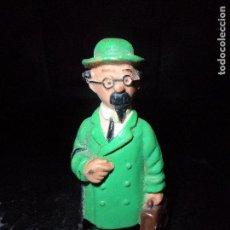Figuras de Goma y PVC: PROFESOR TORNASOL - FIGURA PVC DE TINTIN - MARCA: SIN MARCA. Lote 112535663