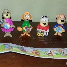 Figuras Kinder: COLECCIÓN KINDER OSO YOGUI AÑO 1995 COMPLETA. Lote 112563799