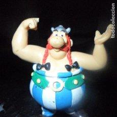 Figuras de Goma y PVC: OBELIX - FIGURA PVC DE ASTERIX - MARCA: COMICS SPAIN. Lote 112596407