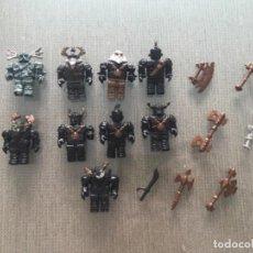 Figuras de Goma y PVC: LOTE FIGURAS TROLL MEGABLOCKS COMPATIBLE CON LEGO. Lote 112615227
