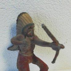 Figuras de Goma y PVC: INDIO FIGURA REAMSA AÑOS 50. Lote 112626659