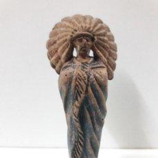 Figuras de Goma y PVC: JEFE INDIO . FIGURA REAMSA Nº 93 . AÑOS 50 EN GOMA. Lote 112647759