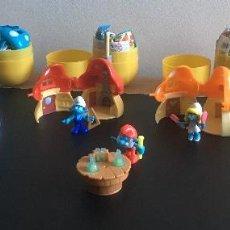 Figuras Kinder: SET COMPLETO NUEVO PITUFOS - KINDER MAXI. Lote 112681727