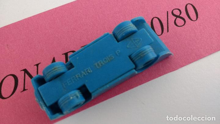 Figuras de Goma y PVC: FERRARI TROIS P COCHE BIMBO TIPO DUNKIN PLASTICO O PVC - Foto 3 - 112690191