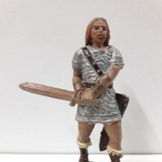 Figuras de Goma y PVC: VIKINGO . REALIZADO POR JECSAN . AÑOS 50 EN GOMA. Lote 112715843