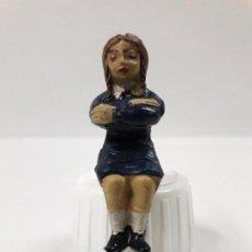 Figuras de Goma y PVC: ALUMNA DEL COLEGIO . REALIZADA POR JECSAN . AÑOS 50 EN GOMA. Lote 112721563