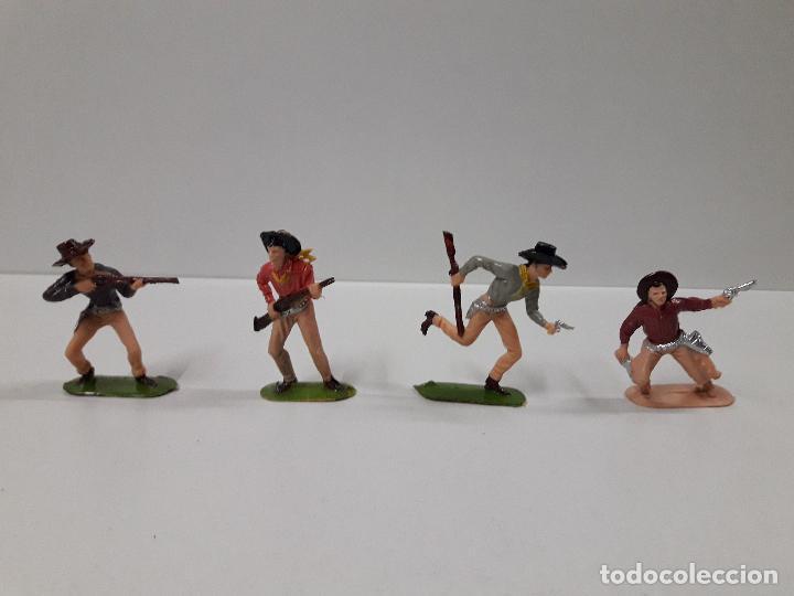 Figuras de Goma y PVC: CAJA POBLADORES DEL OESTE - REF Nº 31. REALIZADA POR JECSAN . AÑOS 60 / 70 - Foto 3 - 112726775