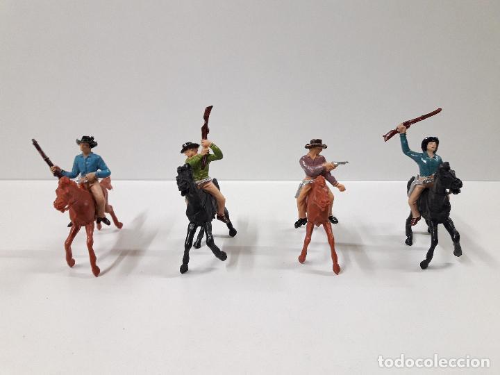 Figuras de Goma y PVC: CAJA POBLADORES DEL OESTE - REF Nº 31. REALIZADA POR JECSAN . AÑOS 60 / 70 - Foto 4 - 112726775