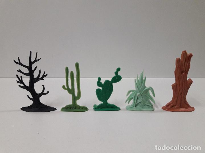 Figuras de Goma y PVC: CAJA POBLADORES DEL OESTE - REF Nº 31. REALIZADA POR JECSAN . AÑOS 60 / 70 - Foto 5 - 112726775