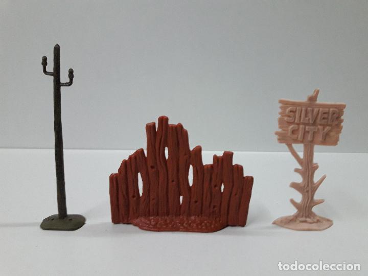Figuras de Goma y PVC: CAJA POBLADORES DEL OESTE - REF Nº 31. REALIZADA POR JECSAN . AÑOS 60 / 70 - Foto 6 - 112726775