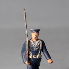 Figuras de Goma y PVC: MARINO ESPAÑOL DESFILANDO - ARMADA ESPAÑOLA - UNIFORME AZUL. Lote 112779371