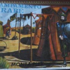 Figuras de Goma y PVC: SOBRE MONTAPLEX. Lote 112806059