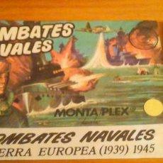 Figuras de Goma y PVC: SOBRE MONTAPLEX. Lote 112806311