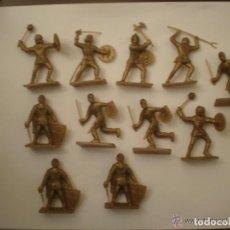 Figuras de Goma y PVC: SOLDADOS GUERREROS MEDIEVALES FIGURAS DE PLASTICO ---- REFARHAPADECAAR1. Lote 112806979