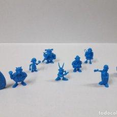 Figuras de Goma y PVC: DIFERENTES PERSONAJES DE ASTERIX . REALIZADOS EN PLASTICO MONOCOLOR. Lote 112811839