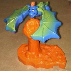 Figuras de Goma y PVC: FIGURA DRAGÓN AZUL EQUILIBRIO HAPPY MEAL MC DONALD'S 1997 DRAGONES VOLADORES BALANCING FLYING DRAGON. Lote 112839763