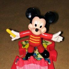 Figuras de Goma y PVC: FIGURA RATÓN MICKEY MOUSE HAPPY MEAL MC DONALD'S DISNEYLAND PARIS PUZZLE. Lote 112839807