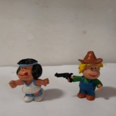 Figuras de Goma y PVC: LOTE DOS FIGURAS MAFALDA COMICS SPAIN. Lote 112869432