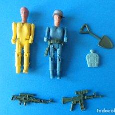 Figuras de Goma y PVC: LOTE MONTAMAN DE MONTAPLEX - FIGURAS, ARMAS Y ACCESORIOS - MONTA-MAN. Lote 112878059