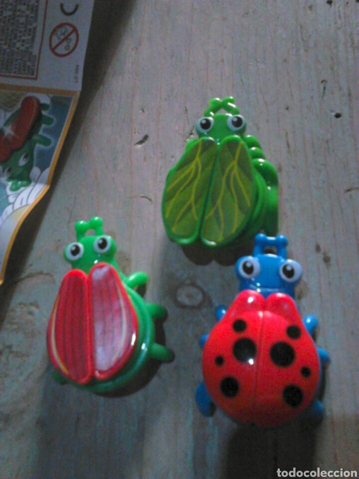 Figuras Kinder: Lote de 3,figuras coleccion ferrero, huebo kinder se201-se203-se204,ideal coleccionistas - Foto 3 - 112883352