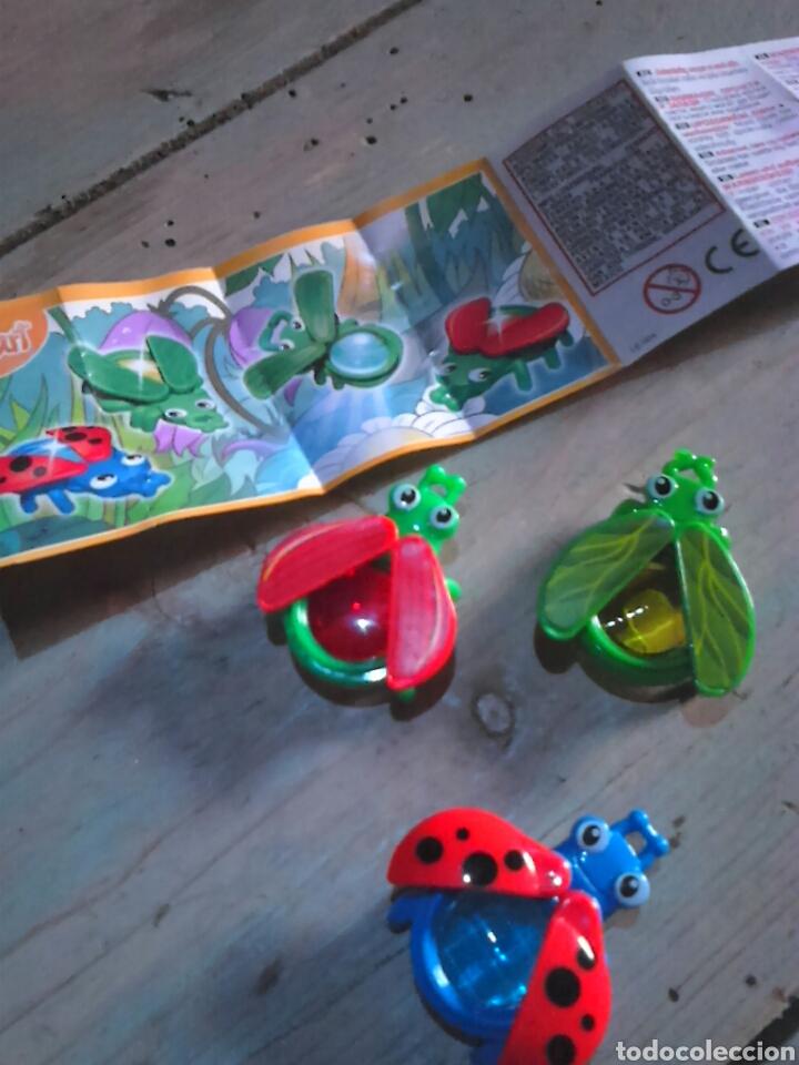 Figuras Kinder: Lote de 3,figuras coleccion ferrero, huebo kinder se201-se203-se204,ideal coleccionistas - Foto 4 - 112883352