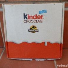 Figuras Kinder: CAJA KINDER CHOCOLATE JURASSIC PARK.. Lote 112897735