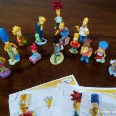 Figuras Kinder: LOTE DE 13 FIGURAS DISTINTAS KINDER DE LOS SIMPSOMS. Lote 112920059