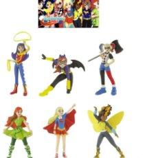 Figuras de Goma y PVC: FIGURAS PVC SUPERHÉROES DC COMICS SUPERHEROINAS. Lote 145224953