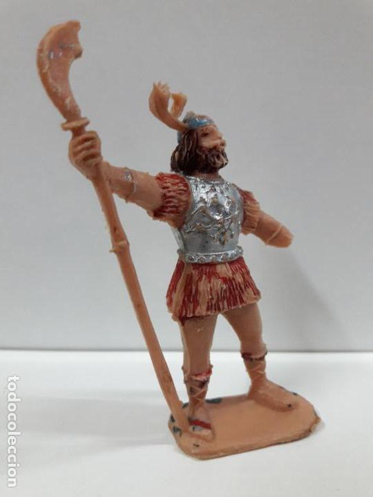 Figuras de Goma y PVC: VIKINGO . SERIE EL CAPITAN TRUENO . REALIZADO POR ESTEREOPLAST . AÑOS 60 . PARA RESTAURAR - Foto 4 - 113144555