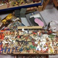 Figuras de Goma y PVC: LOTE FIGURAS YANKEES INDIOS VAQUEROS MARCAS COMANSI JECSAN REAMSA Y MARCAS INTERNACIONALES. Lote 113211875