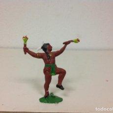 Figuras de Goma y PVC: FIGURA INDIO REAMSA . Lote 113211947
