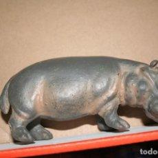 Figuras de Goma y PVC: MUÑECO FIGURA HIPOPOTAMO SCHLEICH 1991. Lote 113225679
