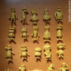 Figuras de Goma y PVC: LOTE DE FIGURAS DUNKIN DE LA COLECCIÓN PERSONAJES DE HANNA BARBERA. VER FOTOS Y LEER DESCRIPCIÓN.. Lote 113254267